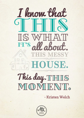 Kristen Welch Quote - design by insight