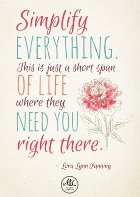 Lora Lynn Fanning Quote - design by insight