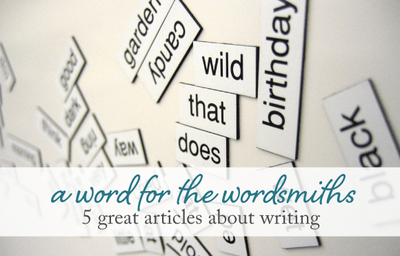 5 great articles about writing - design by insight
