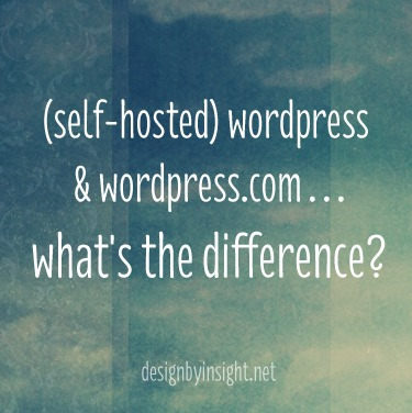 wordpress.org & wordpress.com - what's the difference?