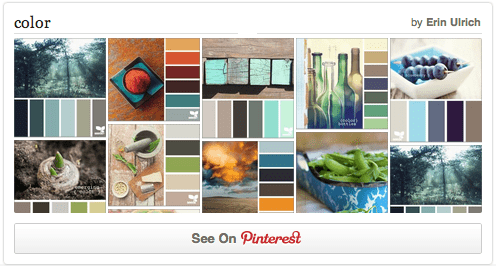 Pinterest Color Board