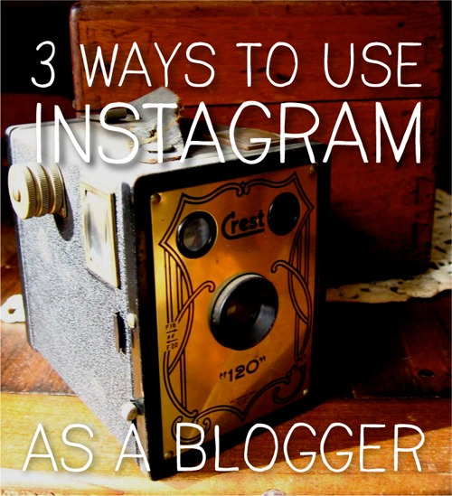3 ways to use instagram as a blogger - design by insight